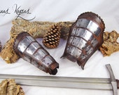 Warrior bracers made of l...