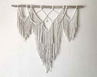 SAGE // Macrame Large Hanging // Wall Tapestry // Unique Handmade Gift