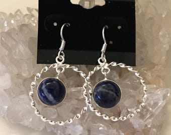 Gorgeous Sodalite  Earrings