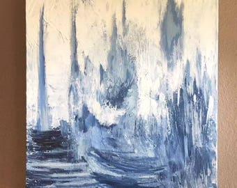 Abstract Painting : modern art, acrylic painting