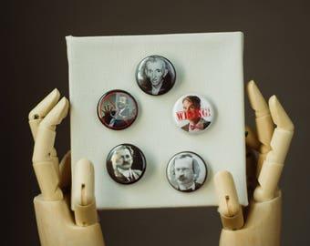 Science Pins | Buttons | Pins | Punk Button | Punk Pin | Pinback Pin | Bill Nye Button | Neil deGrasse Tyson | Liar Pin | Pin Pack | Buttons