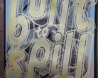 Limited Edition Built to Spill Screen Printed poster by Brian Methe