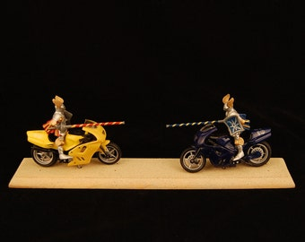 Surely You Joust (motorcycles)