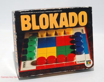 Blokado Strategy Game from Diset Vintage COMPLETE