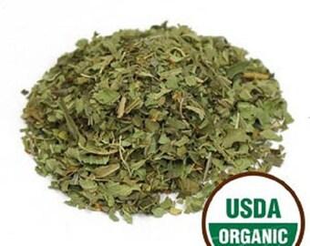 Lemon Verbena Leaf C/S, Organic 1 Pound