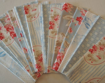 SALE, Fabric Grab Bag, All New Floral Fabrics, 20 pieces, Bag 4CC
