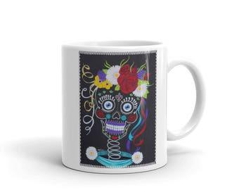 Natasha Skully Bride Original Art Coffee Mug