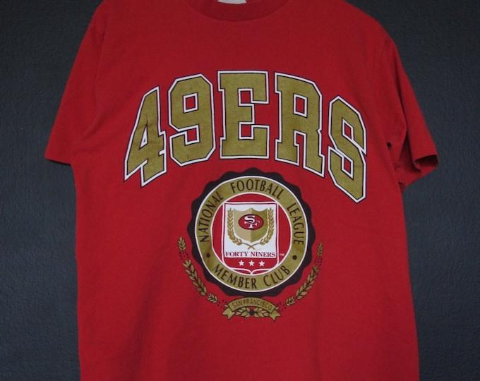 San Francisco 49ers NFL 1990's vintage Tshirt