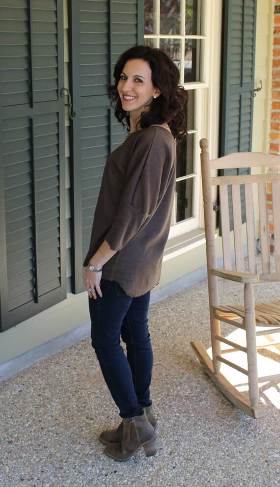 Dolman Shirt for Women PDF Sewing Pattern Seamingly Smitten