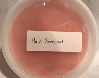 How Sensual - Sugar Scrub