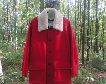 UNUSED Orvis Canada Finest Quality Wool Coat  Size 2X