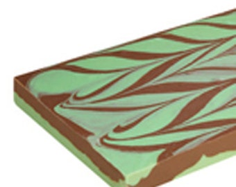 Mint Chocolate Swirl Fudge Buy 1 LB get 1/2 LB of our Classic Chocolate FREE!