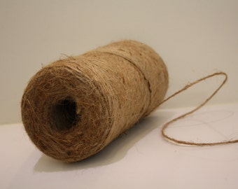Natural Tan Burlap Cord String Jute Cord - 300 YARD ROLL