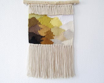 Woven wall hanging weaving weave tapestry suspension decoration deco