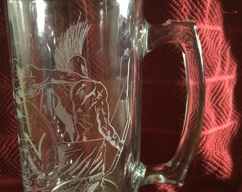 Spartan Warrior Beer Mug