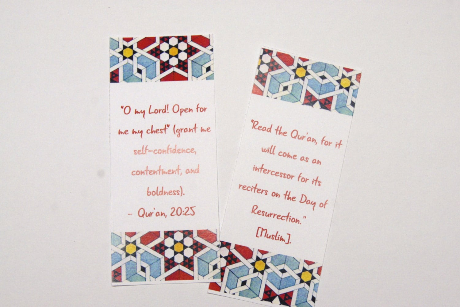 Printable Bookmark Muslim gift DIY Ramadan bookmark Quran