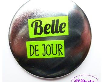 BEAUTIFUL 'BELLE de jour' model collection badge