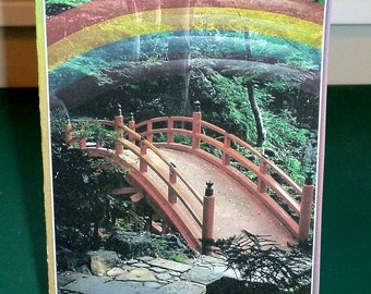 Male Pet Sympathy Card - Rainbow Bridge