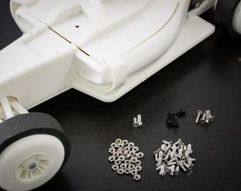 OpenRC-F1 Fastener Kit for 3D Printed RC Car