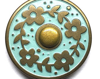 Snap Jewelry -  Snaps made with Apoxie Sculpt & Jumbo Scrapbooking Grommets