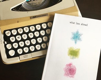 What Lies Ahead- book of poetry