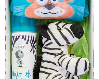 Ziggy the zebra luxury gift set