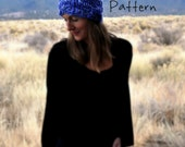Knitting Pattern for Yospun Headband Bulky Chunky Big Wide One Size Fits All