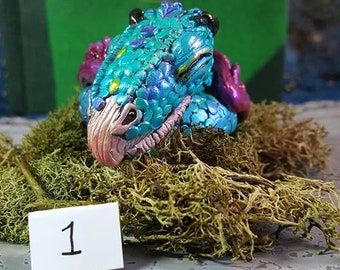 Hand-painted Sleeping Occamy LIMITED EDITION cast only 10 made Fantastic Beasts (#1)