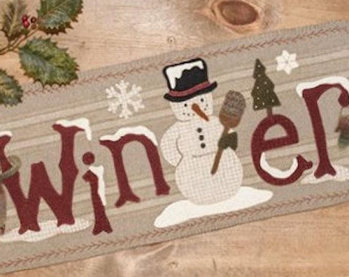 Pattern: Frosty's Winter by Buttermilk Basin