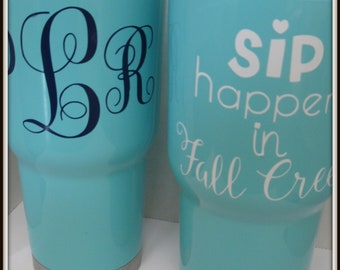 Personalized  Water Bottles Tumblers Teachers, Friends, Moms, Children  BEACH, Monogram, Sport, Mothers Day