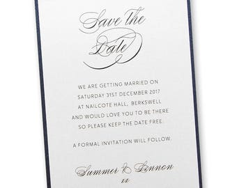 SAMPLE * Adriana Save the Date Cards