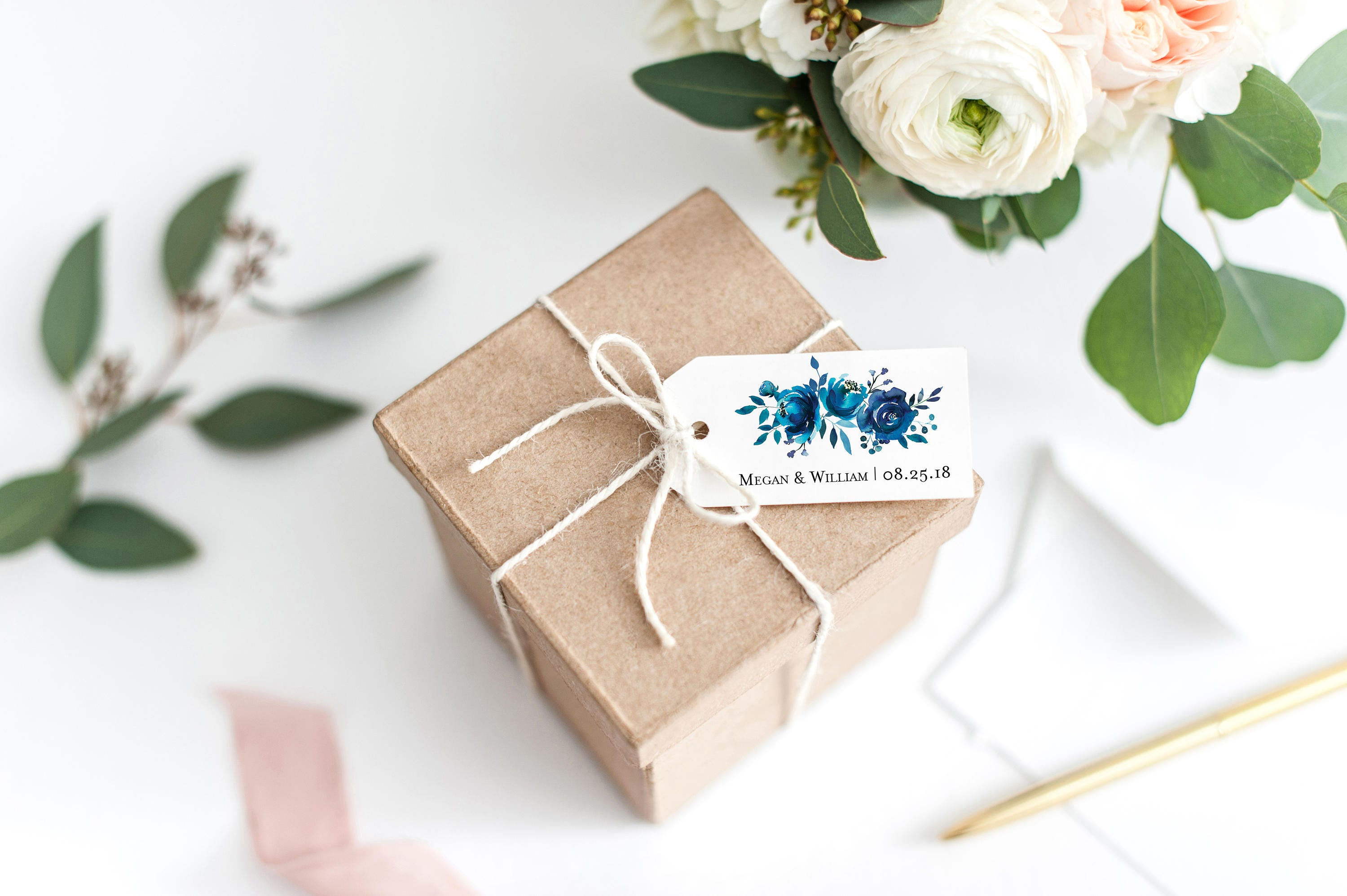 Bridal Shower Tags Wedding Favor Tags Gift Bag Tags for