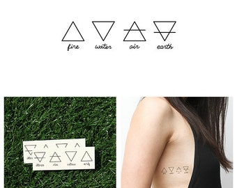 Alchemy - Temporary Tattoo (Set of 2)