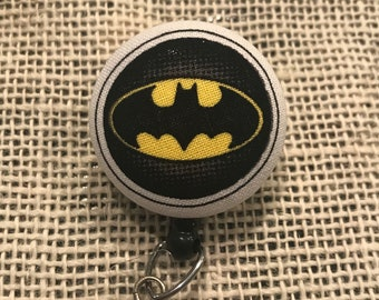 Batman retractable badge reel!