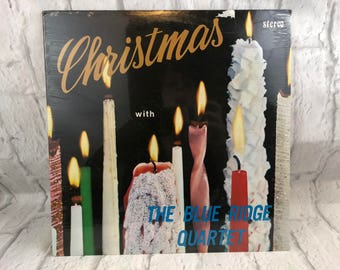 Christmas With The Blue Ridge Quartet Vintage LP Sealed
