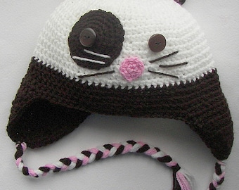 Free shipping Hat for child cat any color, hat for baby, hat for girl. hat for boy