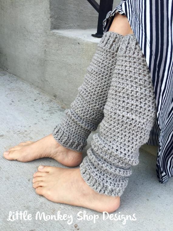 Crochet PATTERN Leg Warmer, Womens Boot Cuffs, Womens Boot Socks ...