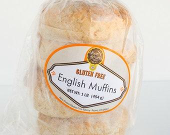 Gluten Free / Vegan Friendly English Muffins
