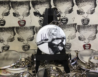 Ida Nelson Edith Massey Female Trouble artwork keychain