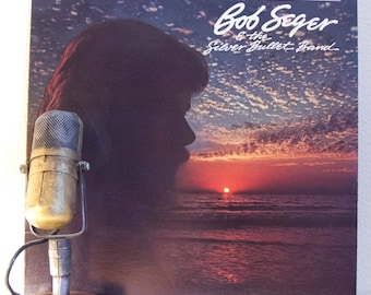 "Bob Seger Vintage Vinyl LP Record Album 1980s Classic Rock and Roll Pop ""The Distance"" (1982 Capitol w/""Roll Me Away"", ""Shame On The Moon""))"