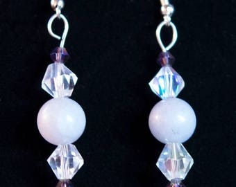 Light Flourite Earrings