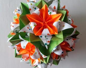 3d origami electra kusudama with carambola flowers 3d origami electra crinum carambola mightylinksfo