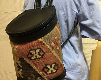 20% OFF FREE Shipping, 3way Kilim bag, Boho chic bag, Backpack, Shoulder bag, Handbag, Killimbag