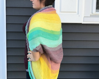 Knitted Shrug Sweater