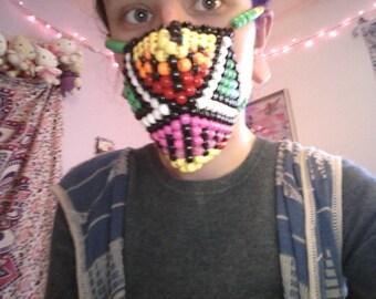 Abstract kandi mask
