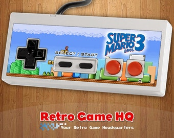 NES - Super Mario Bros. 3 - Controller Overlay (Controller Not Included)