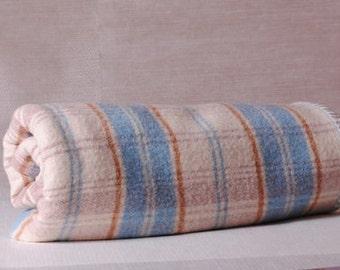 wool /couverture wool Plaid / tartan Scottish bed throw