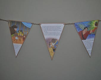 Beauty and the Beast Storybook Banner