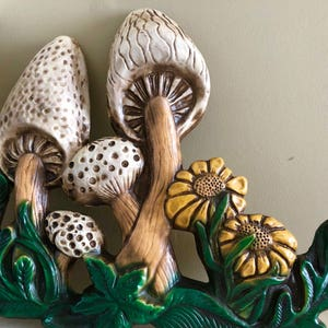 70s Groovy Mushroom Wall Decor
