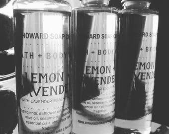 BATH+BODY OIL> howard soap company/ all natural moisture/ minnesota made